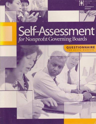 9780925299451: Self-assessment for nonprofit governing boards: Questionnaire for board members/User's Guide and Questionnaire