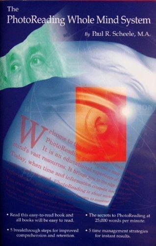 9780925480507: The Photoreading Whole Mind System