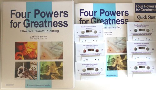 9780925480637: Four Powers for Greatness: Effective Communicating