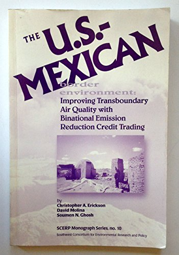 The U.S.-Mexican Border Environment: Lining the All-American Canal: Competition or Cooperation for ...