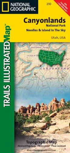9780925873101: National Geographic, Trails Illustrated, Canyonlands National Park/Needles & Island in the Sky: Utah, USA (Trails Illustrated - Topo Maps USA)