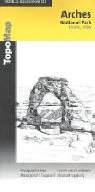 9780925873125: Arches Nat. Park 1:50 000#211 (Trails Illustrated - Topo Maps USA)