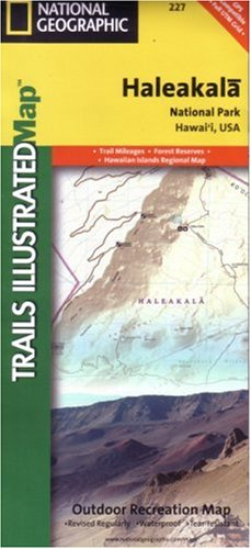 9780925873859: National Geographic, Trails Illustrated, Haleakala National Park: Hawaii, USA (Trails Illustrated - Topo Maps USA)