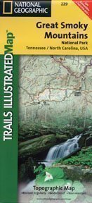 9780925873873: Trails Illustrated Great Smoky Mountains National Park (Trails Illustrated - Topo Maps USA)