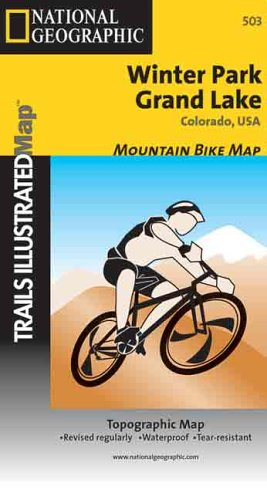 9780925873897: National Geographic Winter Park Grand Lake Colorado, USA: Trails Illustrated Mountain Bike Map (Ti - Other Rec. Areas)