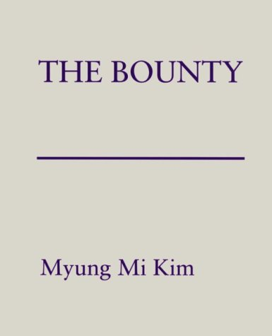 The Bounty: Kim, Myung Mi