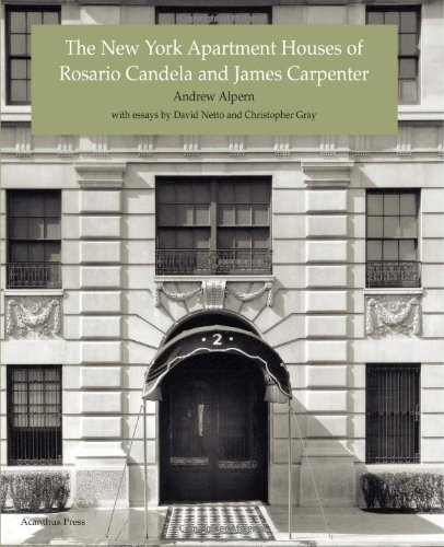9780926494206: The New York Apartment Houses of Rosario Candela and James Carpenter