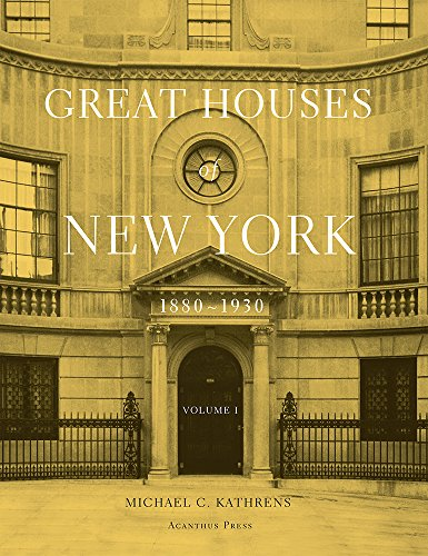 9780926494343: Great Houses of New York, 1880-1930 (Urban Domestic Architecture)