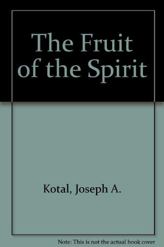 9780926557185: The Fruit of the Spirit