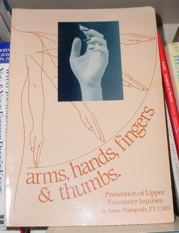 Arms, hands, fingers & thumbs: Prevention of: Tramposh, Anne