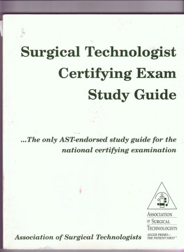 9780926805071: Surgical Technologist Certifying Exam Study Guide