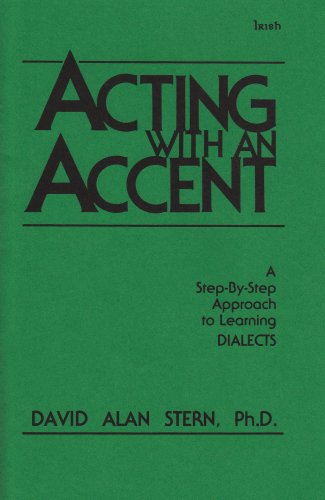9780926862043: Acting With an Accent/Irish
