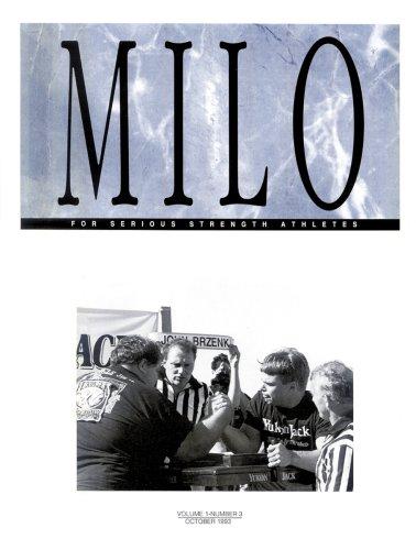9780926888173: MILO: A Journal for Serious Strength Athletes, Vol. 1, No. 3
