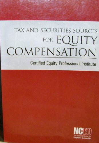 Tax Securities Sources for Equity Compensation: National Center for Employee Ownership