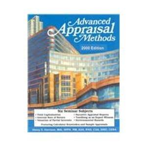 9780927054225: Advanced Appraisal Methods: General Certification Supplement