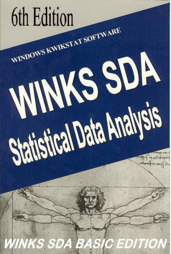 9780927523004: WINKS SDA Basic Edition Statistical Analysis with Software