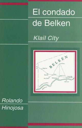 9780927534345: El Condado de Belkem--Klail City (Clasicos Chicanos, 8.)