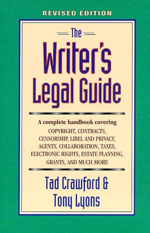 9780927629133: The Writer's Legal Guide