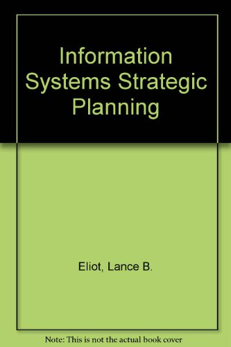 9780927695817: Information Systems Strategic Planning