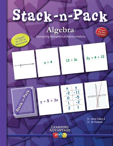 Stack-n-Pack Algebra: Dr. Janie Cates; Dr. Jill Drake