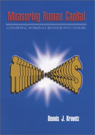 9780927764063: Measuring Human Capital: Converting Workplace Behavior into Dollars