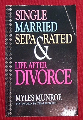 9780927936118: Single, married, separated, and life after divorce