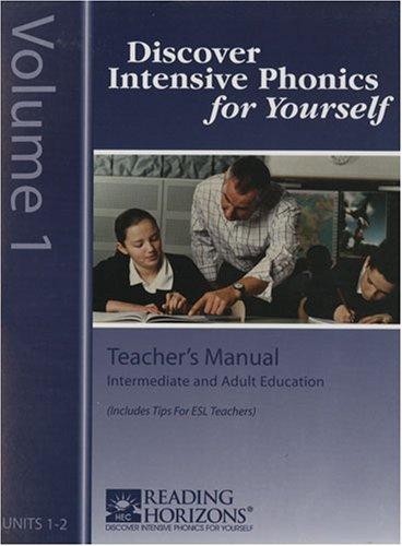 9780928424447: Discover Intensive Phonics For Yourself Teacher's Kit by Charlotte F. Lockhart & Linda Eversole