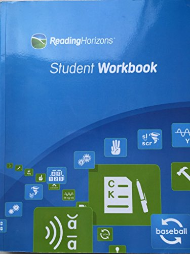 9780928424621: Reading Horizons Student Workbook