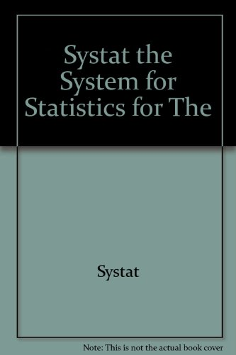 SYSTAT: The system for statistics for the PC: Wilkinson, Leland