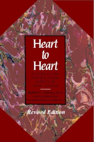 9780929173078: Heart to Heart: A Guide to the Psychological Aspects of Heart Disease