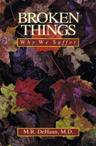 9780929239002: Broken Things: Why We Suffer