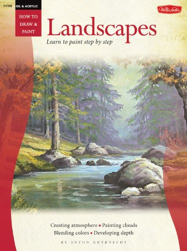 9780929261447: Acrylic: Landscapes (How to Draw and Paint)