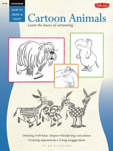 9780929261539: Animal Cartoons (How to Draw and Paint)