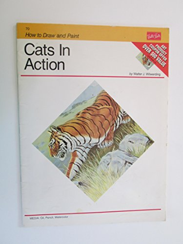 9780929261768: Cats in Action (How to Draw and Paint)