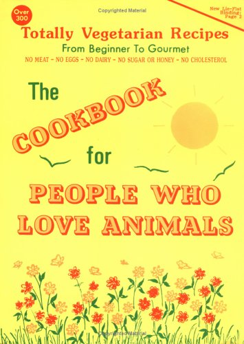 9780929274188: The Cookbook for People Who Love Animals