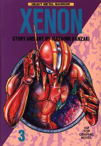 9780929279435: Xenon, Vol. 3: Heavy Metal Warrior (Viz Top Graphic Novel)