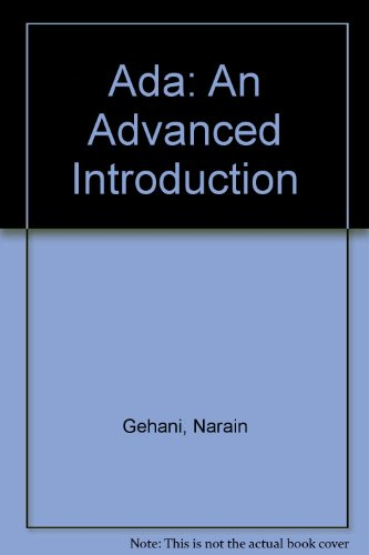 9780929306155: Ada: An Advanced Introduction