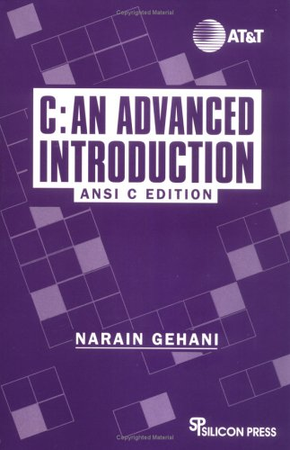 9780929306179: 1: C: An Advanced Introduction : ANSI C Edition