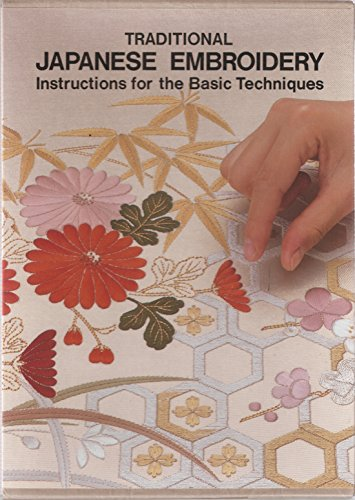 9780929339078: Traditional Japanese Embroidery: Instructions for the Basic Techniques