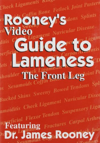 9780929346342: Rooney's Video Guide to Lameness: The Front Leg