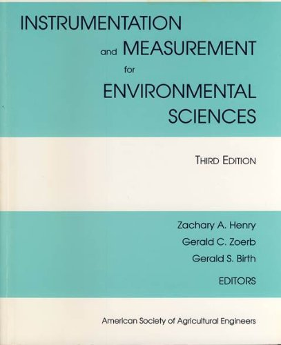 Instrumentation and Measurement for Environmental Sciences