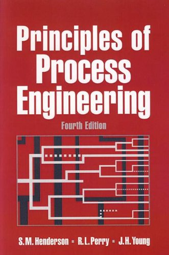 9780929355856: Principles of Process Engineering