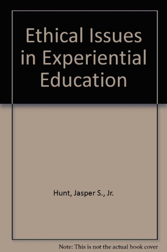 9780929361024: Ethical Issues in Experiential Education