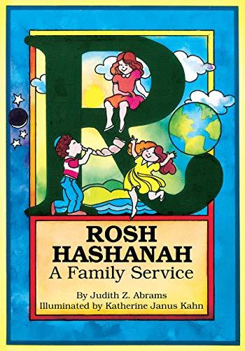 9780929371160: Rosh Hashanah: A Family Service (Fall Holiday Services)