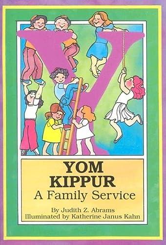 9780929371177: Yom Kippur: A Family Service (English and Hebrew Edition)