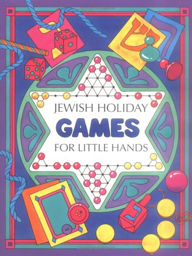 9780929371863: Jewish Holiday Games for Little Hands (Activity Books)