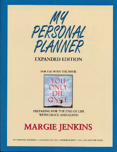 9780929488783: My Personal Planner Expanded Edition: For use with the book You Only Die Once