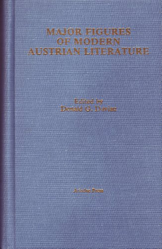 Major Figures of Modern Austrian Literature (Studies: Donald G. Daviau