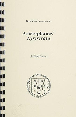 Lysistrata (Greek Commentaries Ser): Aristophanes,