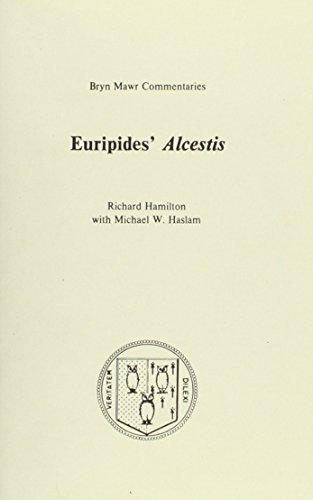 9780929524078: Alcestis (Bryn Mawr Commentaries, Greek)